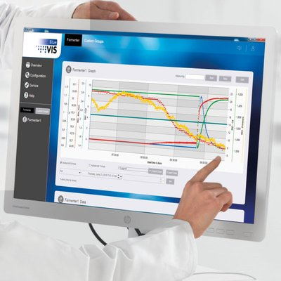 Open bioprocess software for online monitoring